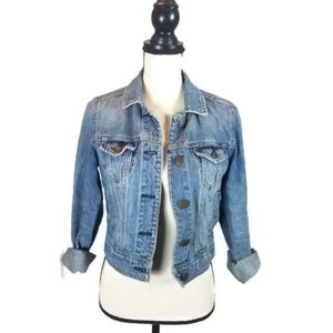 American Eagle Women's Jean Jacket Small